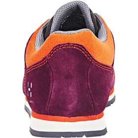 Haglöfs Roc Lite Shoes Women aubergine/habanero